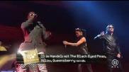 Публиката полудява на концерт на Black Eyed Peas - Boom Boom Pow 2009