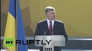 Ukraine: Poroshenko announces boost to military spending