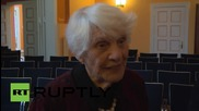 Germany: 102-year-old Ingeborg Syllm-Rapoport receives diploma 77-years after Nazis denied it