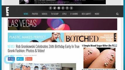 Rob Gronkowski Celebrates 26th Birthday Early In True Gronk Fashion