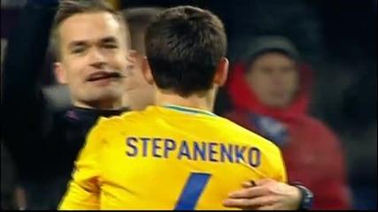 Украинско футболно кунг-фу много лошо влизане