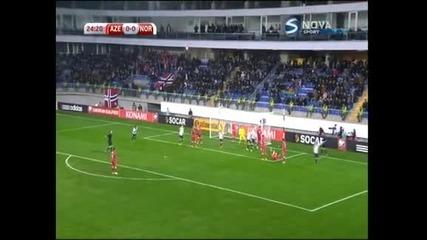Норвегия измъкна победа с 1:0 при визитата си на Азербайджан