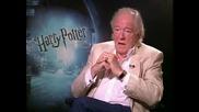 Michael Gambon - интервю Harry Potter and the Half - Blood Prince - част 2