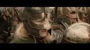 Lord Of The Rings - Death Death - Army of Rohan vs orcsвъведете текст или адрес на уебсайт или преве