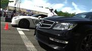 Nissan Gtr Gtt vs Mercedes C63 Amg stock