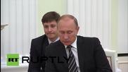 Башар Асад се срещна с Владимир Путин в Москва