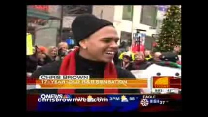 Chris Brown On Today Show (12 - 12 - 06)