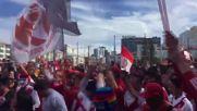Russia: Peru fans bring carnival atmosphere to Yekaterinburg