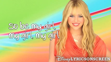 Hannah Montana - Gonna Get This (ft. Iyaz) (lyrics Video) Hd