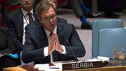 UN: Serbia's Vucic and Kosovo's Thaci clash over Kosovo army formation