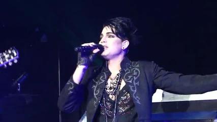 Adam Lambert - Aftermath Glam Nation Tour