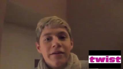 5 дни с One Direction - Найл Хоран - Twist