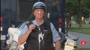 Много смях с един доста глупав полицай - скрита камера