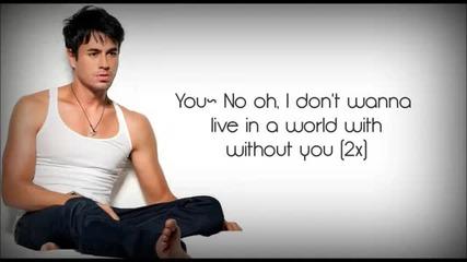 Премиера - Enrique Iglesias- Heart Attack Lyrics