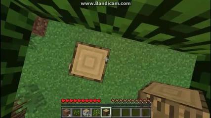 Minecraft как да оцелем 1вия ден