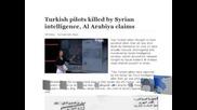 Пилотите на сваления от Сирия турски самолет са били убити от режима