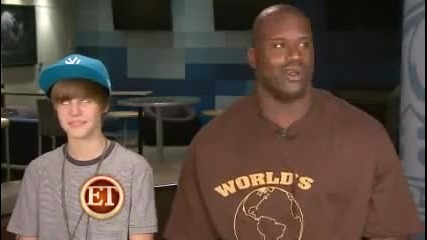 Justin Bieber and Shaq interview