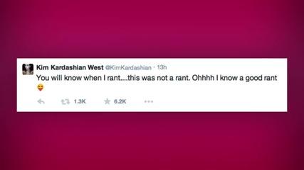 Kim Kardashian Goes on Twitter Rant over Surrogacy Rumors