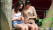 Смях ... Ето какво правят две момичета през свободното време