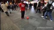 Техничар със супер футболни умения...