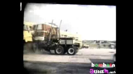 Тест Катастрофа На Тир С Автобус