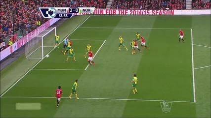 26.04 Ман Юнайтед смачка Норич при дебюта на Р. Гигс като мениджър – 4-0