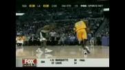 Kobe Bryant Вкарва 12 Поредни Тройки