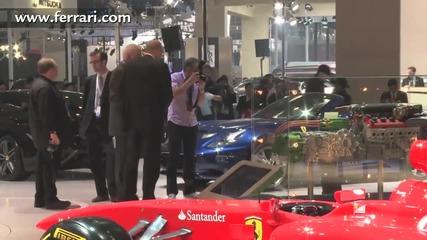 Ferrari in 2012 Beijing Autoshow