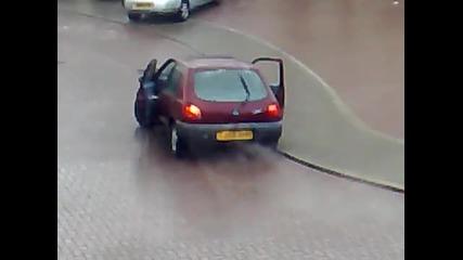 Паркинг ! Ледена пързалка !