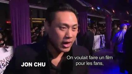 Justin Bieber In Paris Premiere Of Justin Bieber Never Say Never