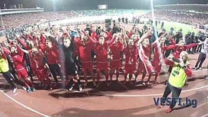 ЦСКА вдигна купата на България