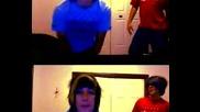 [смях][може Би Бъдещи Звезди?] Emo boys - Пародия на Fergie - Clumsy - Dance Видео