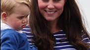 Kate Middleton and Prince George Make First Appearance Since Royal Birth