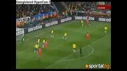 Бразилия - Кндр 2:1 (групова фаза световно 2010 Юар)