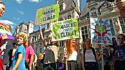 Хиляди демонстрират във Франция срещу климатичните промени