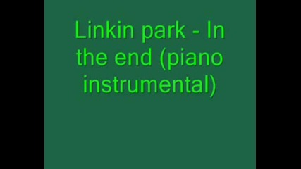 Linkin Park - In The End Instrumental