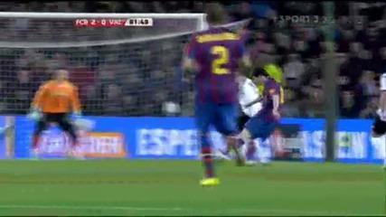Барселона 3:0 Валенсия (хетрик на Меси)
