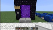 Minecraft Toggle-able Nether Portal Tutorial (kak da si napravim)