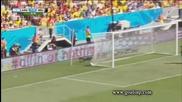 Аржентина на 1/2 финал на Световното! Аржентина 1:0 Белгия 05.07.2014