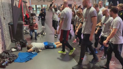 Tryout prospects give fellow competitor a rude awakening in Germany