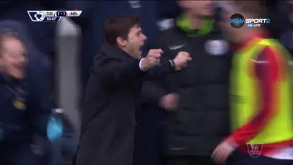 Тотнъм - Арсенал 2:2 /Висша Лига, 29-ти кръг/