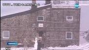 Сняг заваля на Витоша