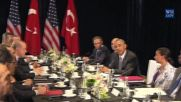 China: Obama meets with Erdogan at G20, lauds Turkey's 'commitment to democracy'