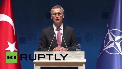 """Столтенберг: """"НАТО се провали в Либия след свалянето на Кадафи."""""""