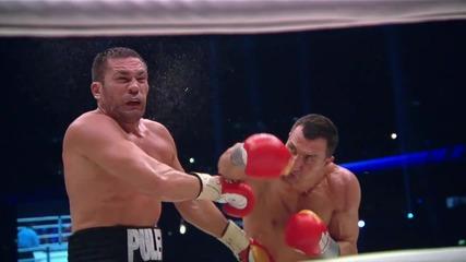 Какво става когато те удари Кличко