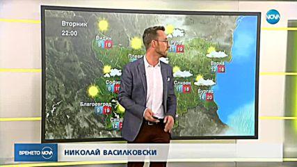 Прогноза за времето (25.09.2018 - сутрешна)
