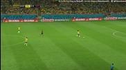 1/2 финал: Бразилия 1 – 7 Германия // F I F A World Cup 2014 / Brazil 1 – 7 Germany (2-pо полувреме)