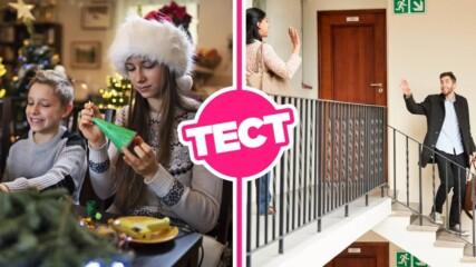 ТЕСТ: Избери коледна украса за дома си и ще ти кажем какъв съсед си!