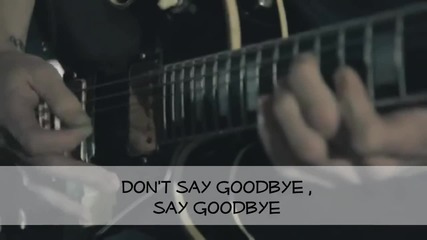 Blessthefall - Don't Say Goodbye