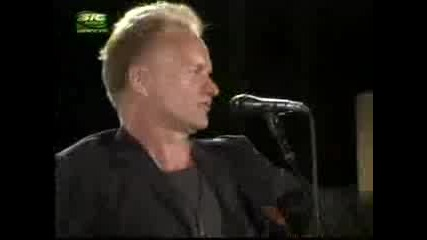 Sting - Englishman In New York (Live)